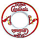 St. Louis Cardinals Inflatable Inner Tube/Swim Ring