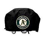 Oakland Athletics Deluxe Grill Cover