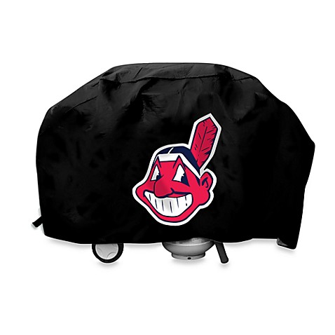 MLB Cleveland Indians Deluxe Barbecue Grill Cover