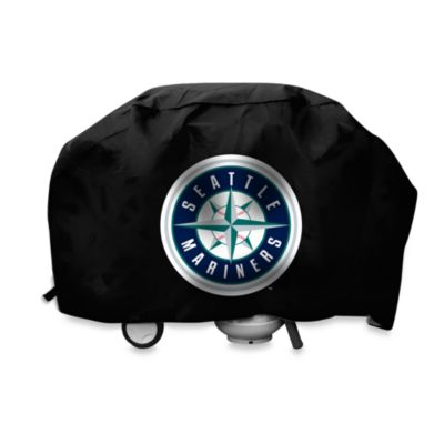 MLB Seattle Mariners Deluxe Barbecue Grill Cover