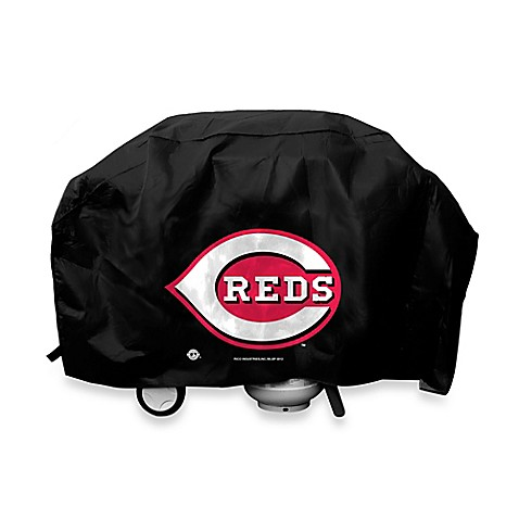 MLB Cincinnati Reds Deluxe Barbecue Grill Cover