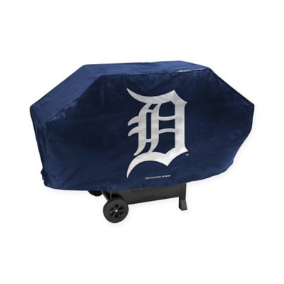 MLB Detroit Tigers Deluxe Barbecue Grill Cover