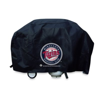 MLB Minnesota Twins Deluxe Barbecue Grill Cover