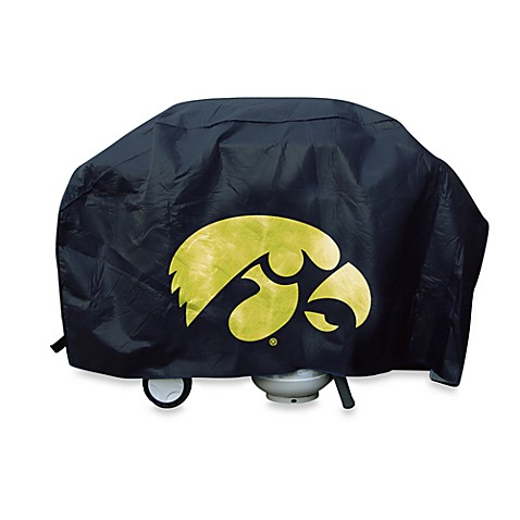 University of Iowa Deluxe Barbecue Grill Cover