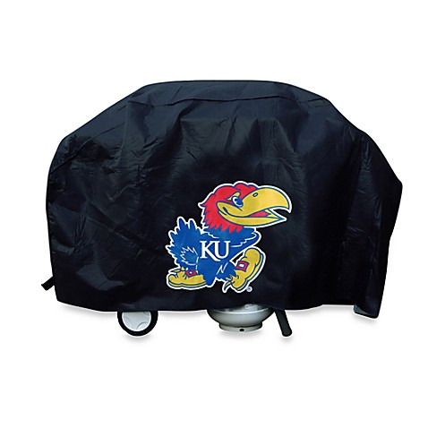 University of Kansas Deluxe Barbecue Grill Cover