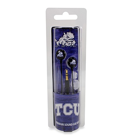 Texas Christian University Ignition Earbuds