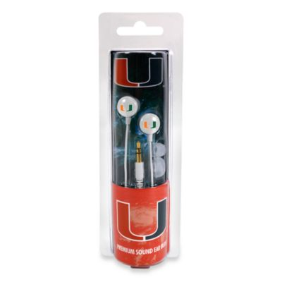 University of Miami Ignition Earbuds