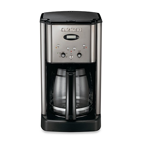 Cuisinart® Brew Central™ 12-Cup Programmable Coffee Maker in Black and Chrome