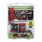 Café Cup™ Reusable Single Cup Pod