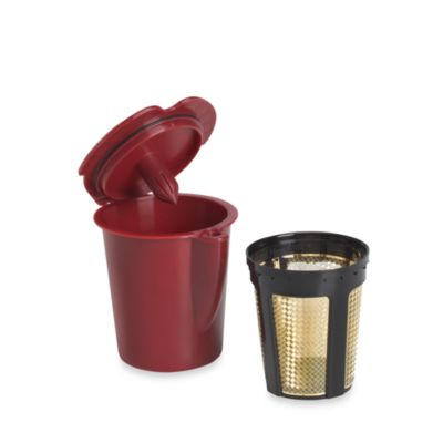 Solofill® V1 Gold Refillable Filter Cup for Keurig® Vue Brewing Sytems