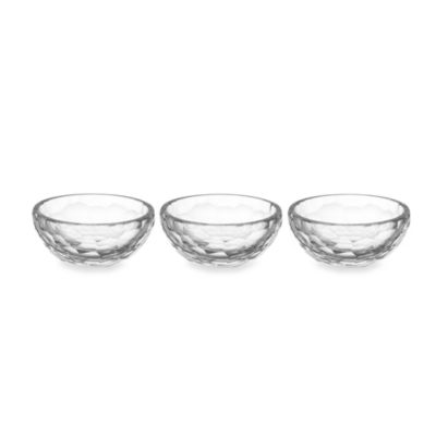 Oleg Cassini Broadway Bowl 4.5-Inch (Set of 3)