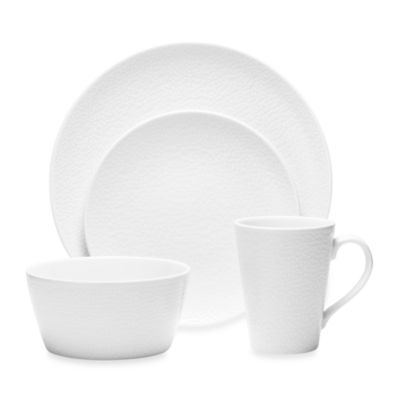 WoW Snow 4-Piece Place Setting