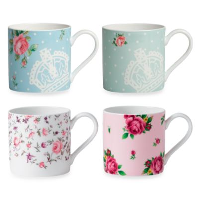 Royal Albert Modern Mugs (Set of 4)