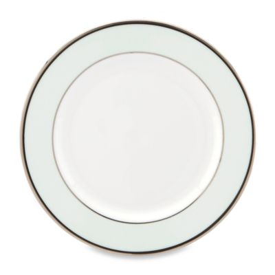 kate spade new york White Parker Place Butter Plate