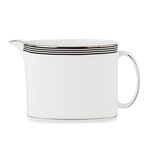 kate spade new york White Parker Place Creamer