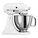 KitchenAid® Artisan® 5 qt. Stand Mixer in White/Silver