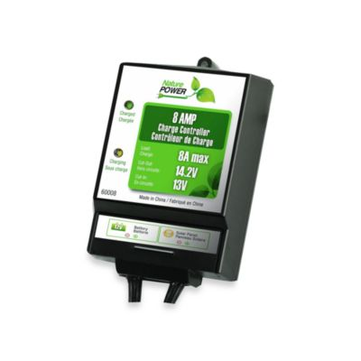 Nature Power 8-Amp Solar Charge Controller