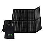 Nature Power 80-Watt Monocrystalline Folding Solar Charger for Laptops and 12-Volt Batteries