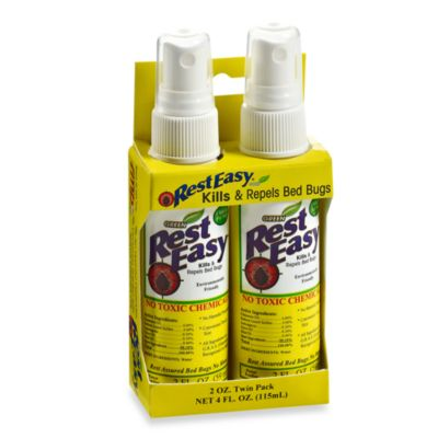 Rest Easy™ Bed Bug Repellent Travel Spray (Set of 2)