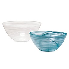 Mikasa® Swirl 12-Inch Glass Serving Bowl