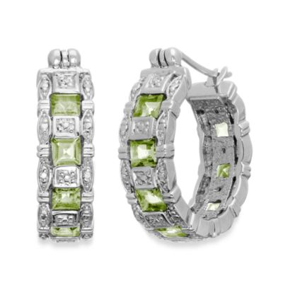 Eternities by Carol Brodie™ Peridot Hoops