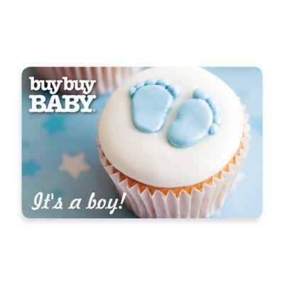 It's a Boy! Cupcake Gift Card