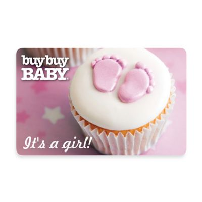 It's a Girl! Cupcake Gift Card