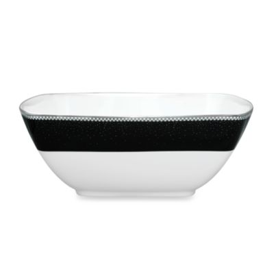 Noritake® Pearl Noir 30-Ounce Medium Square Bowl
