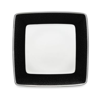 Blue Square White Dinnerware