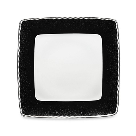 Noritake® Pearl Noir 7 1/2-Inch Small Square Dinner Plate