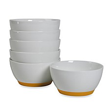 Tabletops Unlimited™ Neo Eco Butter 4-Inch Fruit Bowls (Set of 6)