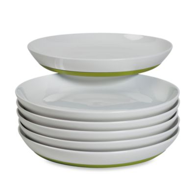 Tabletops Unlimited™ Neo Eco Green 10-Inch Dinner Plates (Set of 6)