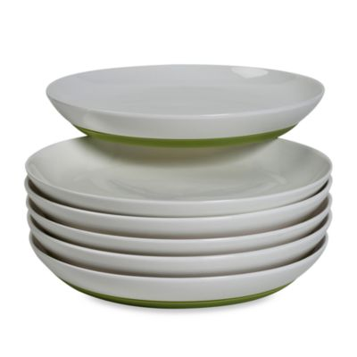 Tabletops Unlimited™ Neo Eco Green 8-Inch Salad Plate (Set of 6)