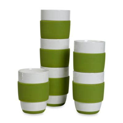 Tabletops Unlimited™ Neo Eco Green 16-Ounce Capacity Mugs (Set of 6)