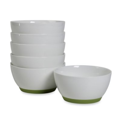 Tabletops Unlimited™ Neo Eco Green 4-Inch Fruit Bowls (Set of 6)