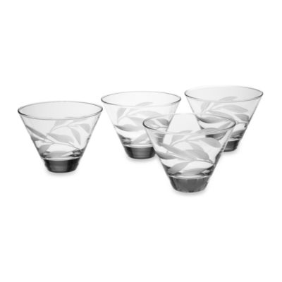 Reed & Barton® Bamboo Garden Multi-Purpose Glasses (Set of 4)