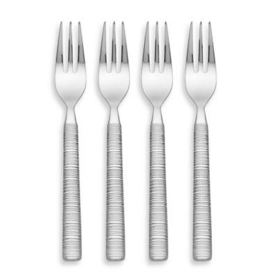 Donna Karan Lenox® Wrap Café Dessert Forks (Set of 4)