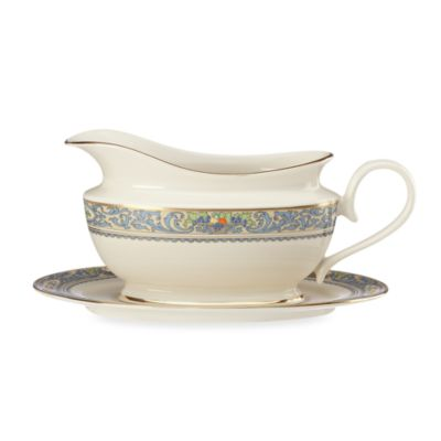 Lenox® Autumn® Legacy Gravy Boat and Stand