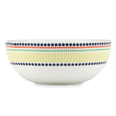kate spade new york Hopscotch Porcelain 72-Ounce Serving Bowl