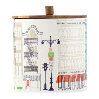 kate spade new york Hopscotch Drive About Town Large Canister with Lid