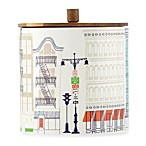 kate spade new york Hopscotch Porcelain 6.5-Inch Large Canister