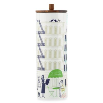 kate spade new york Hopscotch Porcelain 4-Inch Canister