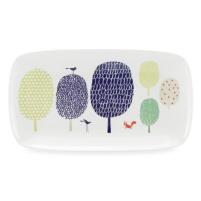 kate spade new york Hopscotch Porcelain 13.75-Inch Tray