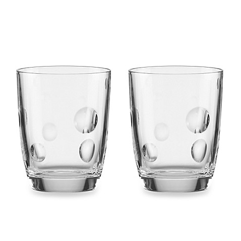 kate spade new york Society Hill 10-Ounce Double Old-Fashioned (Set of 2)