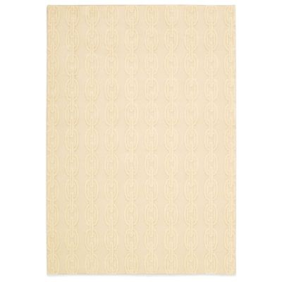 Nourison Nepal Butwal 3-Foot 6-Inch x 5-Foot 6-Inch Area Rug in Bone