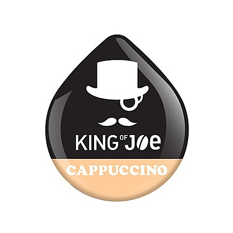 King of Joe 16-Count Cappuccino T DISCs for Tassimo™ Beverage System