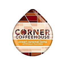 Corner Coffeehouse 16-Count Sweet Caramel Latte T DISCs for Tassimo™ Beverage System