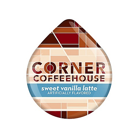 Corner Coffeehouse 16-Count Sweet Vanilla Latte T DISCs for Tassimo™ Beverage System