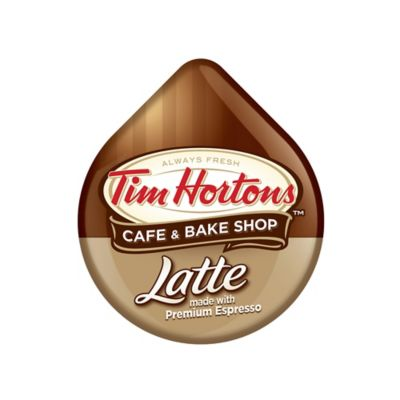 Tim Hortons™ 8-Count Latte T DISCS for Tassimo™ Beverage System