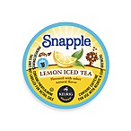 K-Cup® 16-Count Snapple® Lemon Iced Tea for Keurig® Brewers